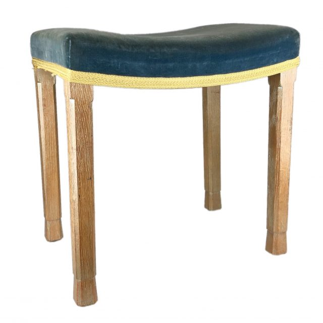 Glenister of Wycombe - HM Queen Elizabeth II 1953 Coronation Stool Sold for £200