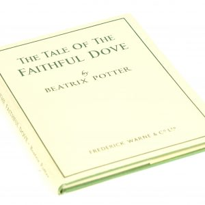 beatrix potter faithful dove first edition