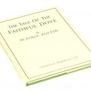 beatrix potter faithful dove first edition