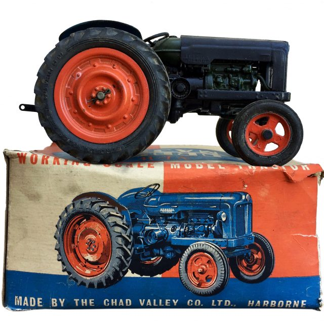Chad Valley 'New Fordson Major' Large Scale Clockwork Tractor Sold for L200