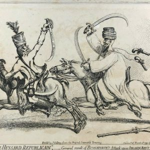 James Gillray etching