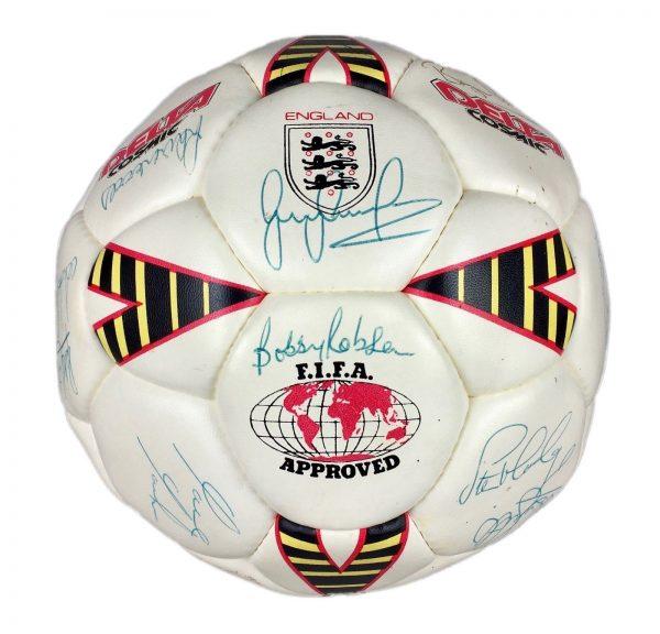 Signed England Football