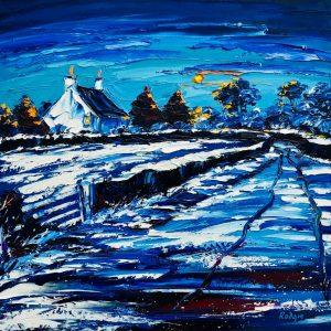 Lynn Rodgie painting
