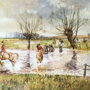 Michael Lyne watercolour