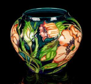 Moorcroft Poppy Vase
