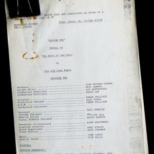 Doctor Who Script