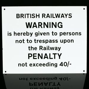 British Railways Sign