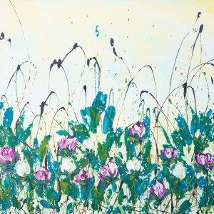 Clare Sykes painting