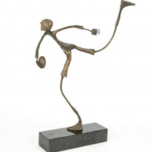 ed rust bronze sculpture