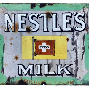Nestles enamel sign