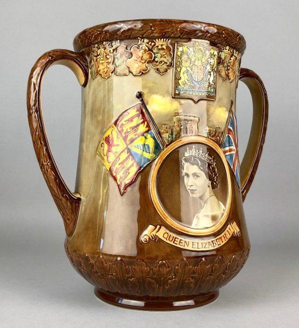 Queen Elizabeth II Coronation Loving Cup 1953