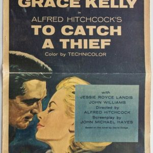 hitchcock catch thief poster