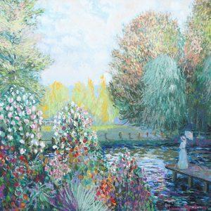 John Myatt Claude Monet