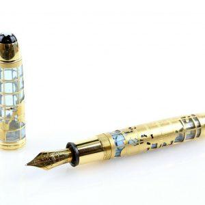 Montblanc John Harrison gold pen