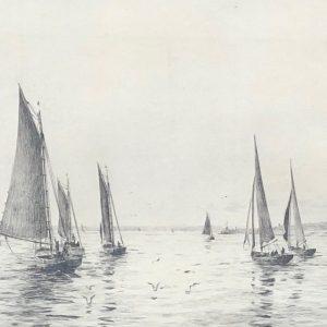 Rowland Langmaid etching