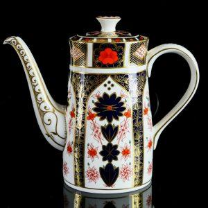 Royal Crown Derby Coffee Pot