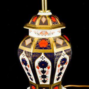 Royal Crown Derby Lamp