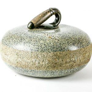 granite curling stone