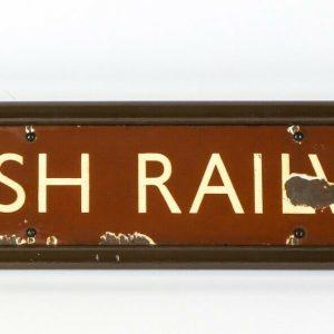 British Railways Header Sign