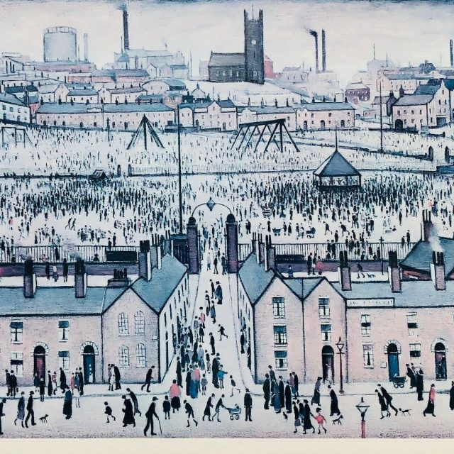 LS-LAURENCE-STEPHEN-LOWRY-BRITAIN-AT-PLAY-LIMITED-EDITION-COLOUR-PRINT-SIGNED-173949662074