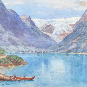 Tristam Ellis painting
