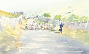 Brian Irving watercolour