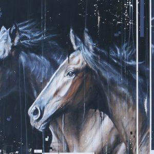 Kris Hardy painting