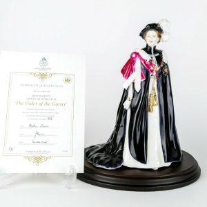 Royal Worcester queen elizabeth