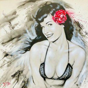 Jen Allen painting