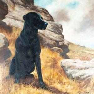 John Trickett painting