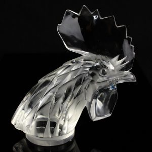 Lalique glass mascot