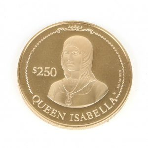 British Virgin Islands gold coin