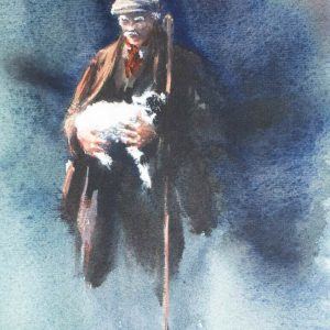 Brian Irving watercolour