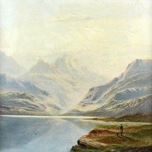 Charles Leslie painting