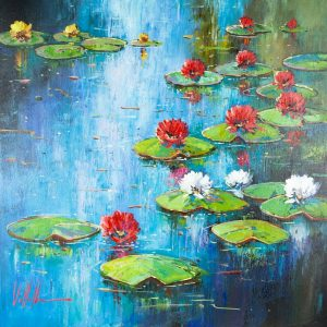 Antonio Villalba painting