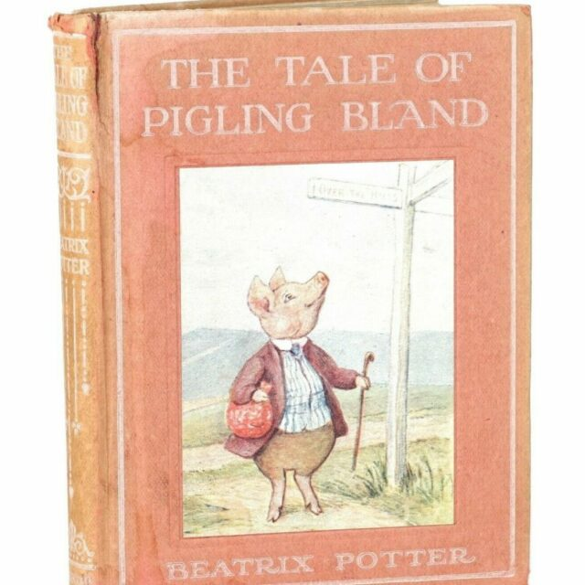 Beatrix Potter first edition