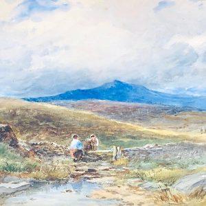 David Bates painting