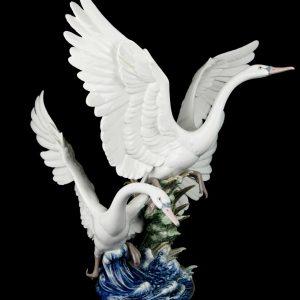 lladro swans