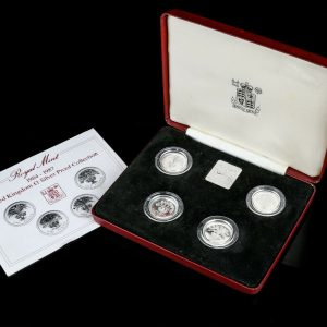 silver proof coin set