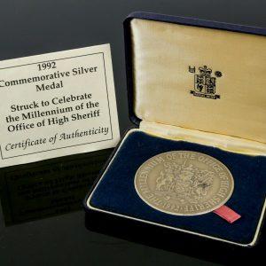 Royal Mint silver medal