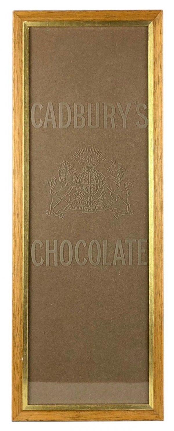 vintage Cadburys Chocolate